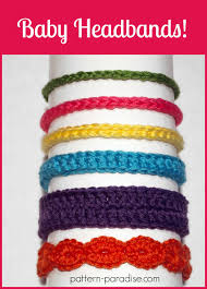 Crochet Patterns For Headbands Gorgeous Free Crochet Pattern Six Styles Of Baby Headbands Pattern Paradise