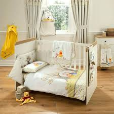 classic winnie the pooh nursery decor bedding medium size of the pooh bedroom nursery linen collection