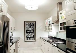 White Galley Kitchen Designs White Country Galley Kitchen Tiny