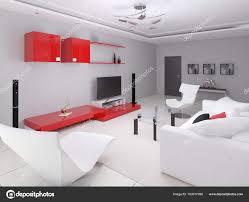 Modern bright living room Luxury Modern Bright Living Room In Hitech Style Stock Photo Depositphotos Modern Bright Living Room In Hitech Style Stock Photo