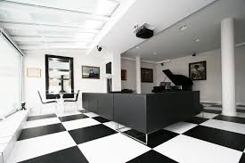 office decors. Modern Concept Black And White Office Decor With TOYA Decors