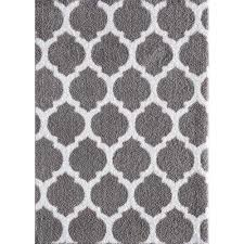 seyward titanium pure white 8 ft x 10 ft area rug
