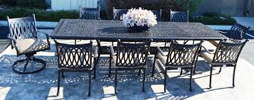 outdoor swivel dining chairs. Grand Tuscany 11 Piece Dining Set: 2 Swivel Chairs, 8 Outdoor Chairs
