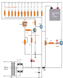 solar emergency light circuit diagram solar image led emergency light circuit battery over charge protection on solar emergency light circuit diagram