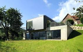 maison contemporaine terrain en pente home review fzl99