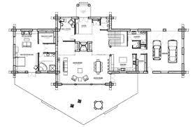 Log Home Design Plan And Kits For CarolinaOpen Log Home Floor Plans