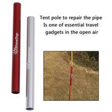 Aluminium Alloy Tent Pole Repair Tube Single Rod Mending