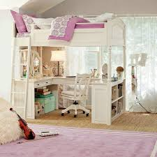 White Loft Bed With Desk. Raise The Roof Kidsu0027 Loft Bed - HD Wallpapers
