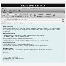 Job Email Subject Resume Line What Cover Letter Sample With