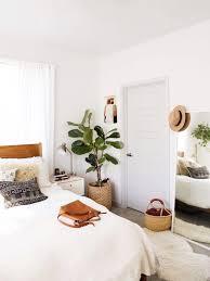 bedroom minimalist. Minimalist-boho-bedroom-with-plants Bedroom Minimalist