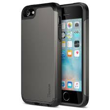 apple 5s case. amazon.com: iphone se case, trianium [protak series] ultra protective cases for apple (2016) \u0026 5s 5 [gunmetal gray] dual layer + 5s case t