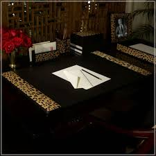 decorative desk blotter