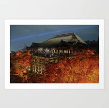 Kiyomizudera Autumn — Barrett #2872670 - PNG Images - PNGio