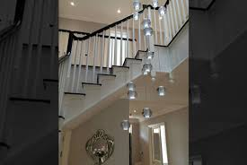 stairwell lighting. 31 light air bubble chandelier supplied to signature prime property stairwell lighting a