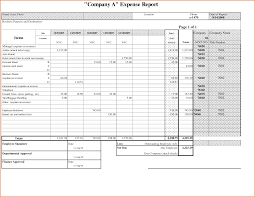 Examples Of Expense Reports sample expense report Ninjaturtletechrepairsco 1