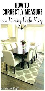 size of area rug under dining table average size dining room area average size area rug