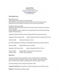 Resume Writing Raleigh Nc Resume Within Professional Resume