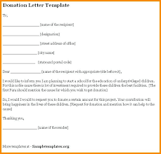 Solicitation Latter Solicitation Letter Template Donations Donation Reverse