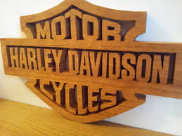 Harley Davidson Signs Decor HARLEY DAVIDSON PLAQUE By Bazz100uk LumberJocks 21