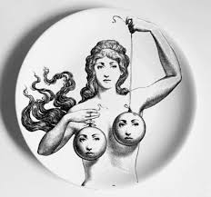 <b>Fornasetti</b> Renaissance Decorative <b>Plate 6 Inch</b> Ceramic Wall Art ...