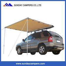 China <b>2017 New Arrival</b> Polyester <b>Waterproof</b> Car Side Awning ...