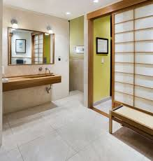 japanese bathroom design. View In Gallery Simple Master Bathroom New York Loft With Strong Japanese Overtones Design