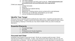 Job Description Resume Toreto Co Descriptionsr Server