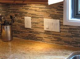 image of horizon mosaic kitchen backsplash ideas on a budget