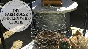 diy rustic farmhouse en wire
