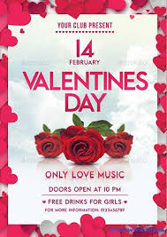 Valentines Flyers 70 Best Valentines Day Party Flyer Templates 2019 Frip In