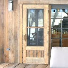 how to build a simple wooden screen door wood storm door with glass awesome wood screen
