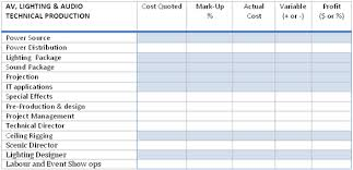 conference budget spreadsheet event budget templating six reference lists to build your own