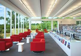contemporary library furniture. Images Courtesy Of RDH Architects And Tom Arban Contemporary Library Furniture