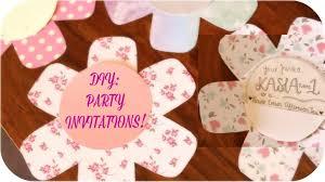 Handmade Birthday Invitation Ideas Under Fontanacountryinn Com