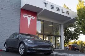 Tesla Inc Nasdaq Tsla Shares Rallied More Than 20 In