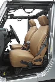 bestop custom tailored front seat covers for 13 18 jeep wrangler jk quadratec
