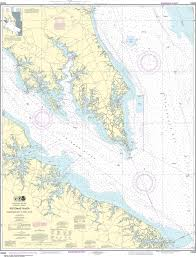 Potomac River Depth Chart Noaa Nautical Chart 12233 Potomac River Chesapeake Bay To Piney Point