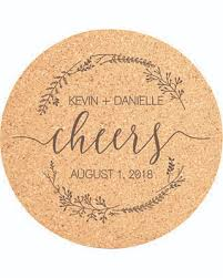 Custom cork coasters Laser Engraved Cork Coaster Set Cheers Engraved Coasters Wedding Favors Personalized Coasters Custom Better Homes And Gardens Amazing Winter Deal Cork Coaster Set Cheers Engraved Coasters