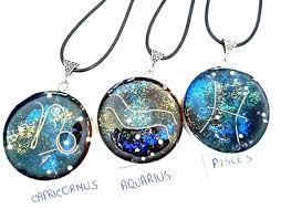 orgone orgonite pendant 12 signs zodiac