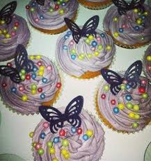 Girls Birthday Cupcakes Picture Of Silver Sparkle Cake Company