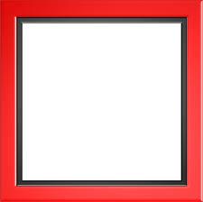 square black frame png. Red Frame Border Black Decoration Design Square Png A