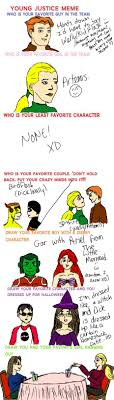 Young Justice Meme by animewiccan725 on DeviantArt via Relatably.com