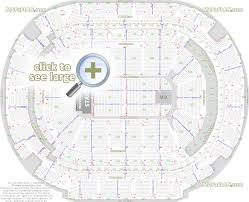 American Airlines Arena Seating Chart Eagles American Airlines Center Dallas Seat Numbers Detailed