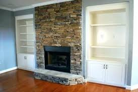 white quartz stacked stone fireplace interior stones ideas be equipped with classic white dry stacked stone fireplace
