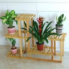 target plant stands flower shelves wood 4 tier pot racks home garden decor pots indoor australia