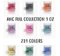 Anc Nails Color Chart Anc Dip Colors Wholesale Nail Supply