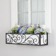 Metal Window Boxes Iron Window Boxes Metal Flower Boxes Hooks