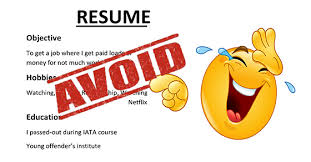 What Not To Put On Your Resume What Not To Put On A Resume Perfect