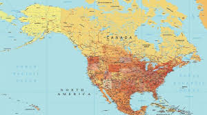 United States Map Of The World Usa Vector Map Detailed Map Of The United States Maptorian