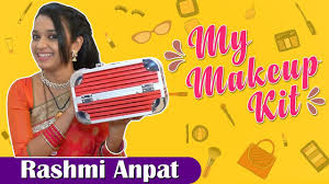 rashmi anpat s makeup kit marathi actress kulswamini tv serial my makeup kit